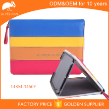Colorful PU leather tablet case for ipad cover case 2 14SM-3460F