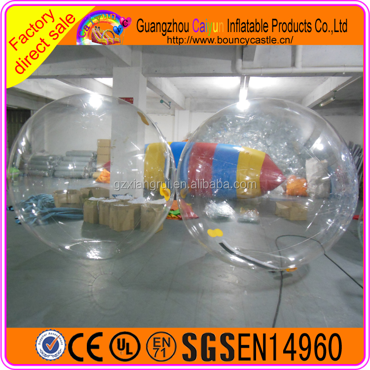 2016 Hot selling giant inflatable floating jumbo water ball,water walking ball for sale