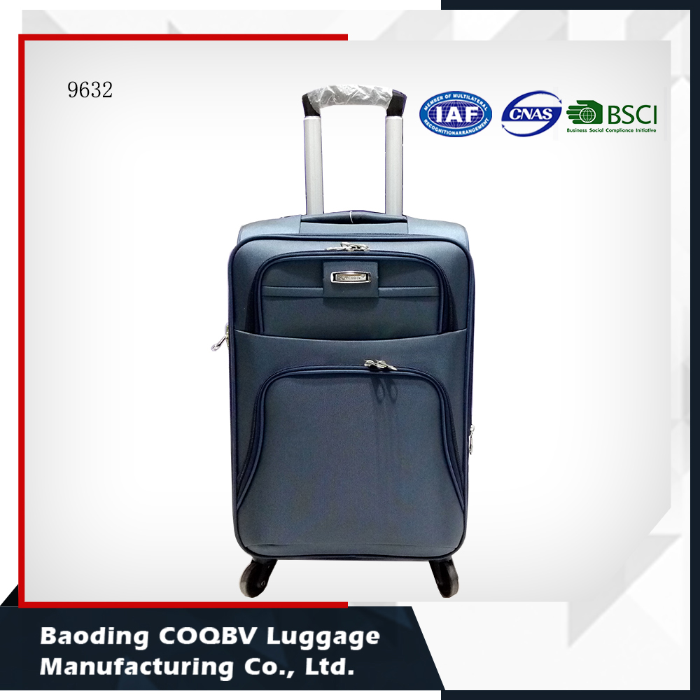 Nylon Travel Suitcase,Soft Lightweight Internal Trolley Luggage Factory