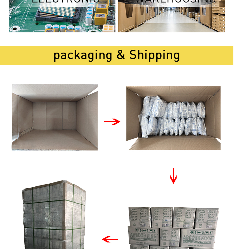 High absorption rate super dry calcium chloride powder desiccant for food packing