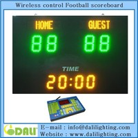 Best seller used outdoor football scoreboard for sale