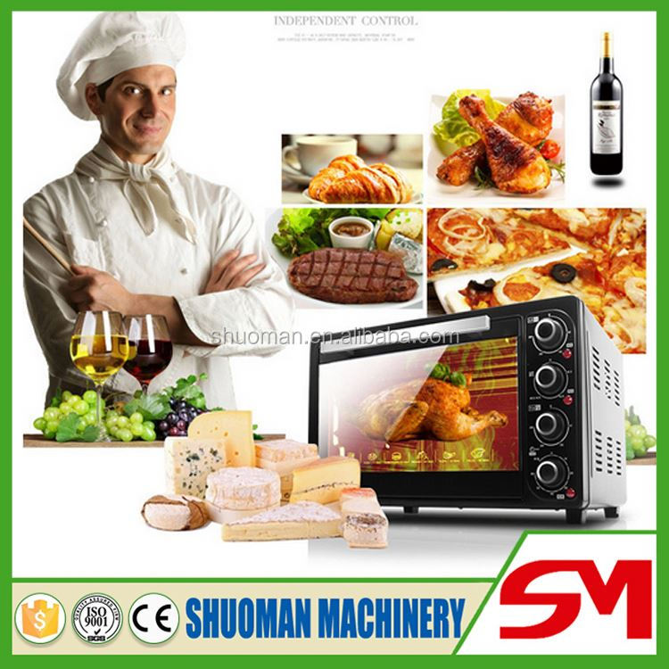 High quality food hygiene standards electric portable oven
