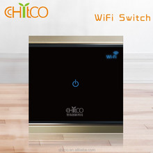 Chitco 1 gang phone wifi controlled light switch 220v waterproof fireproof phone control wifi