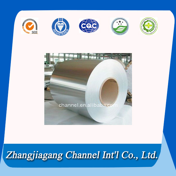 High quality prepainted aluminum coil for package