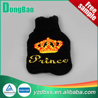 black with imperial crown hot water bottle brown batterfly cover