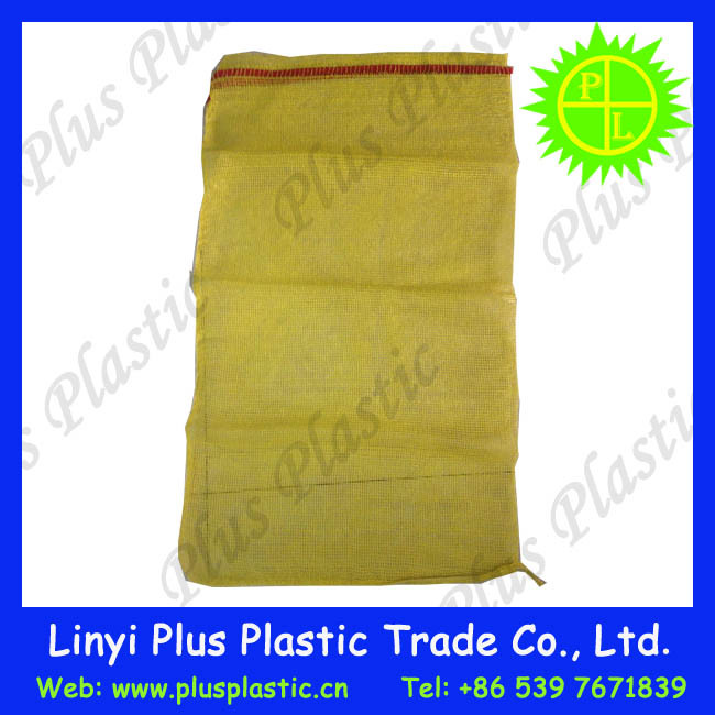 cheap price recycled Leno mesh bag for sale to the Asia Market