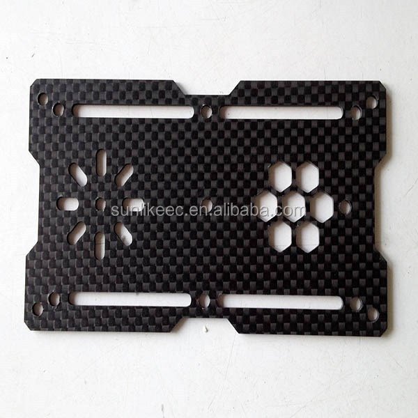 Customized High Quality and Wholesale Price 3K CNC Cutting Carbon Fiber Product