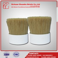 Beautiful Hot Sale Boiled Bristle White Boiled Bristle For Round Paint Brush