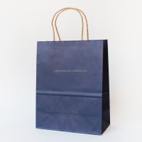 China Supplier Fancy Design Kraft Advertising White Kraft Paper Bags