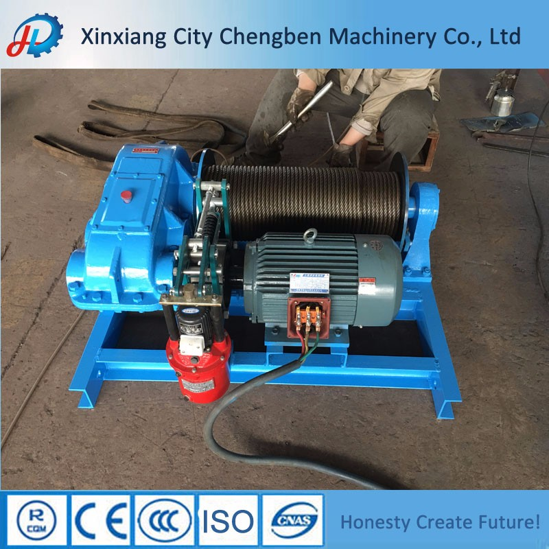 Cable Pulling Machine Electric Anchor Winch 10 Ton Sale
