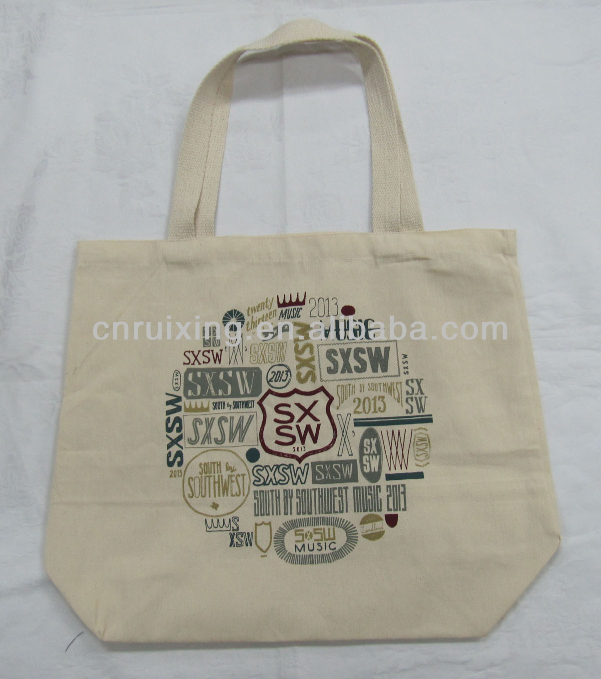 2016 cotton canvas tote bag