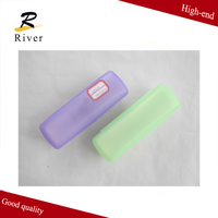 Hot selling rectangle clear plastic eyeglasses case / reading glasses cases