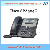 CISCO SPA504G Cisco 4 Line IP Phone SPA 504 VoIP Phone good price