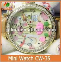 colorful precious stone watch CW-35