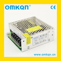 S-15-12 CE approved 15w din rail switch power supply