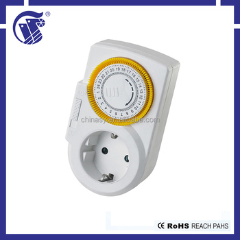 Multi-countries styles 220-240V AC mechanical gas valve timer
