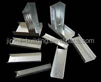 light Galvanized steel profile / drywall metal stud track of partition