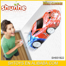 Hot sell remote control wall climbing car toys for wholesale