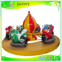 Motor racing car children play game machine for big park