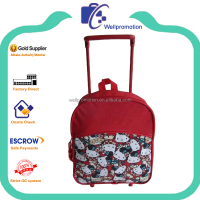 Fashion school kids trolley luggage bag for promotion