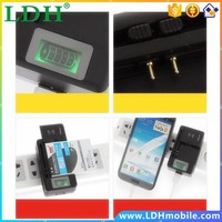 100pcs/lot YIBOYUAN Genuine SS-5 Mobile Phone Universal Charger US Battery Wall Charger With LCD Display and 1250mAh Output