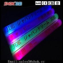 LED Flashing Glow Stick Light Toys For Kids&New Design Custom LED Foam Glow Sticks&Light Up Foam Sticks