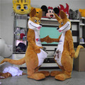 Hola kangaroo costume for adults/custom made costumes for adults/costume