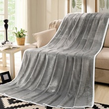 New Product fashionable design korean soft bed sheet flannel blanket