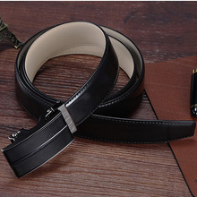 Factory Custom 105-125cm Length Famous Brand Leather Belts for Men
