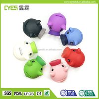 Hot Selling Plastic Silicone Coin Piggy