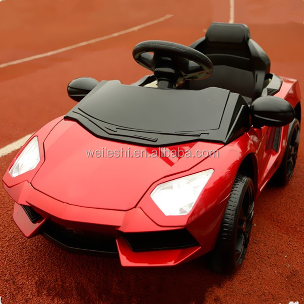 China supplier hot sale new product children's ride on cars children electric vehicle with LED light