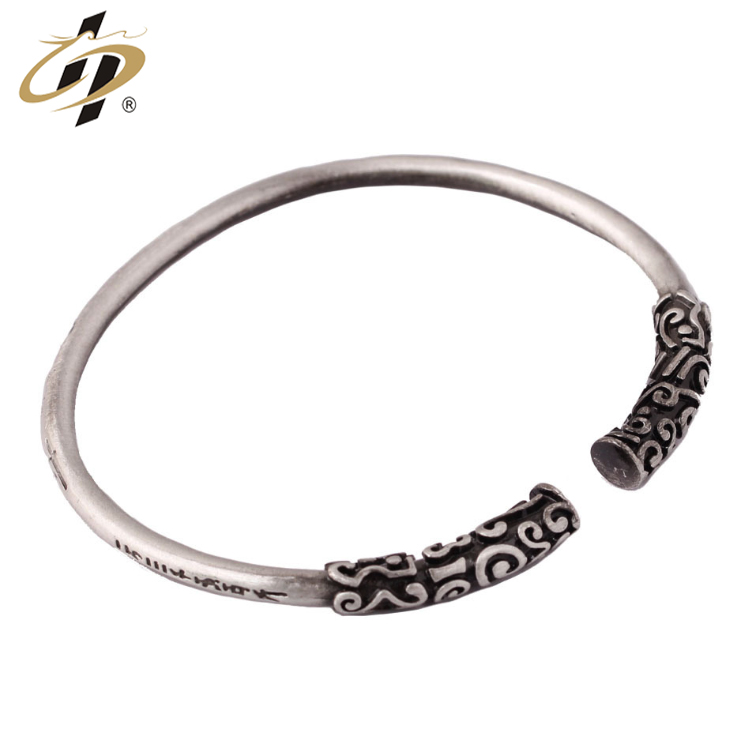 Wholesale metal zinc alloy antique old custom fashion bracelet