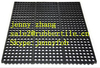 3'*5' Heavy Duty Rubber Flooring Cover Matting,Kitchen sink Mat
