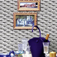 52152 bamboo wallcovering,korea wallcovering stone brick wallpaper