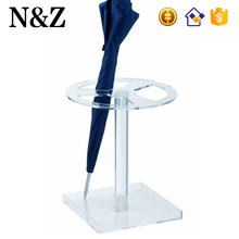 NZ M89 Hot Sale Indoor Umbrella Stand Rack Custom Clear Acrylic Umbrella Stand