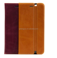 Super special leather two-fold smart case for iphone 5/5s from China