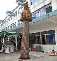 New product 2016 direct manufacturer artificial tree trunk palm tree trunks