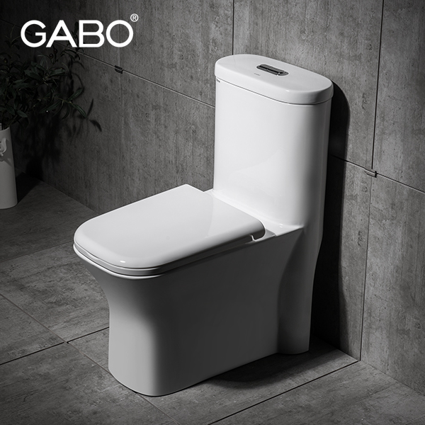 Square Floor Standing Ceramic Electric Marine Toilet