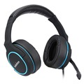 Big earcup PCgaming mic headset wearing comfortable gaming stereo headphone for PS4 Xbox one PC Mac Tablet smartphone
