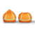Best Selling Orange Cute bean bag kids bean bag