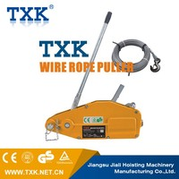 Mini wire rope puller/wire cable puller