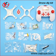 Wholesale educational toy Meet EU Standard 2.4Ghz Cheaper price Headless mode drone kit diy with three color