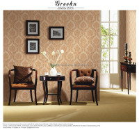 Cheap home decoration european style designer wallpaper