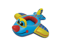PVC Inflatable Pool Float Airplane Baby Seat
