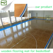 YIMEI PVC sports flooring for basketball floor mat