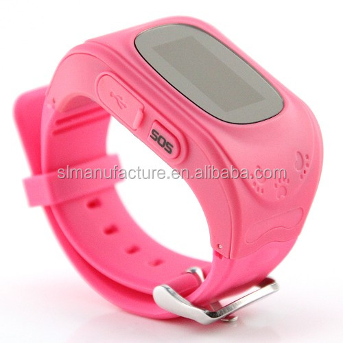 kids outdoor mini GPS smart watch inteligente smartwatch for baby SOS Call mi band Connect smartphones