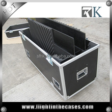 "Plasma Cases for 2 X 42"" Plasma displays with casters"