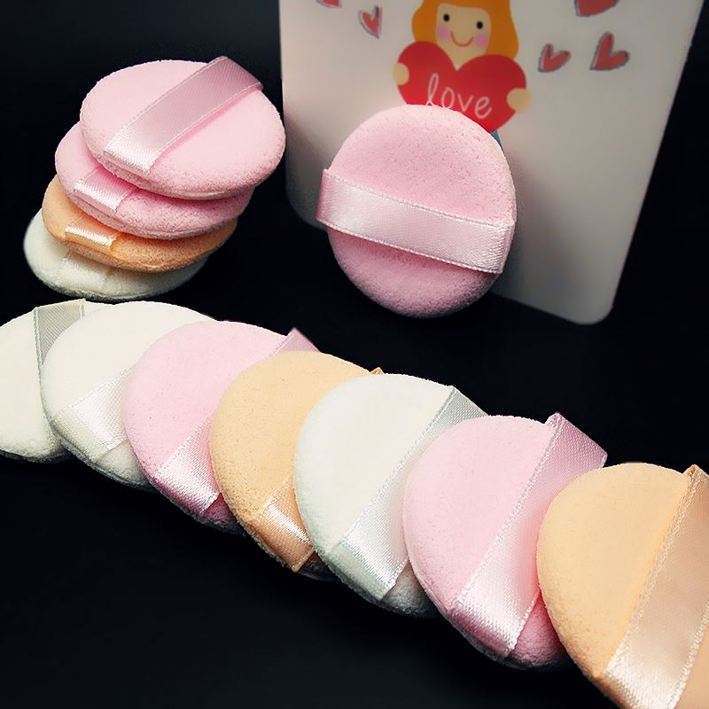 Manufacturer supply hot sale OEM quality makeup sponge applicator cosmetic powder puff from China workshop
