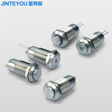 12mm push button ip67 momentary metal push button switch