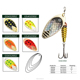 Good Quality Wholesale Leurres Peche Spoon Metal Decoys Fishing Lures